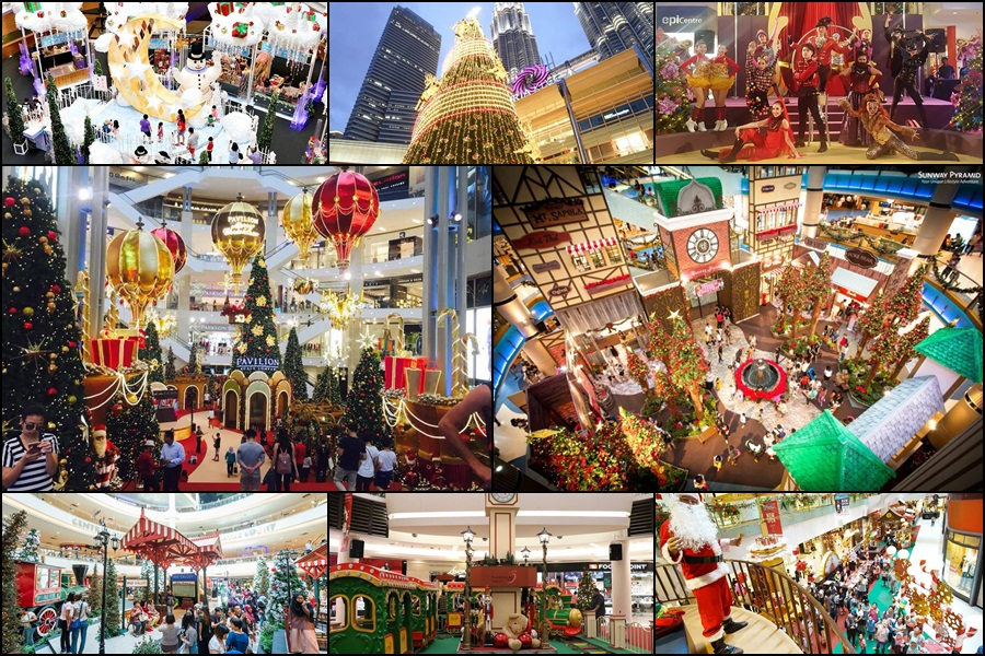 8 best Christmas theme decorations for malls in Malaysia!