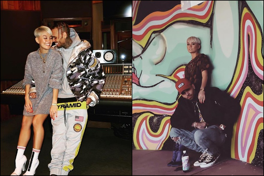 Chris Brown's new lover is Indonesian pop queen Agnez Mo