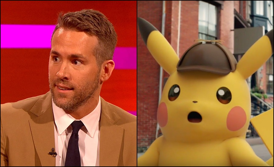 Detective Pikachu and Deadpool are sharing a voice