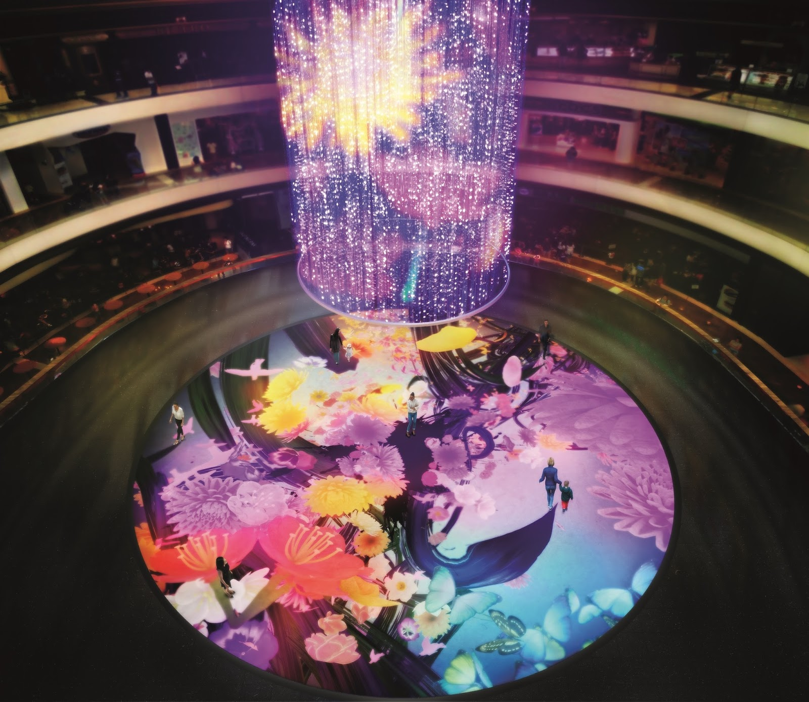 Go see this awesome light installation at Marina Bay Sands by Japan's teamLab!