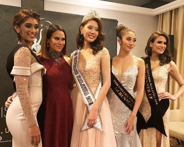 Miss Universe Malaysia 2018 is 20-year-old student