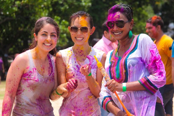 Have a colourful weekend at Singapore's Rang de Holi