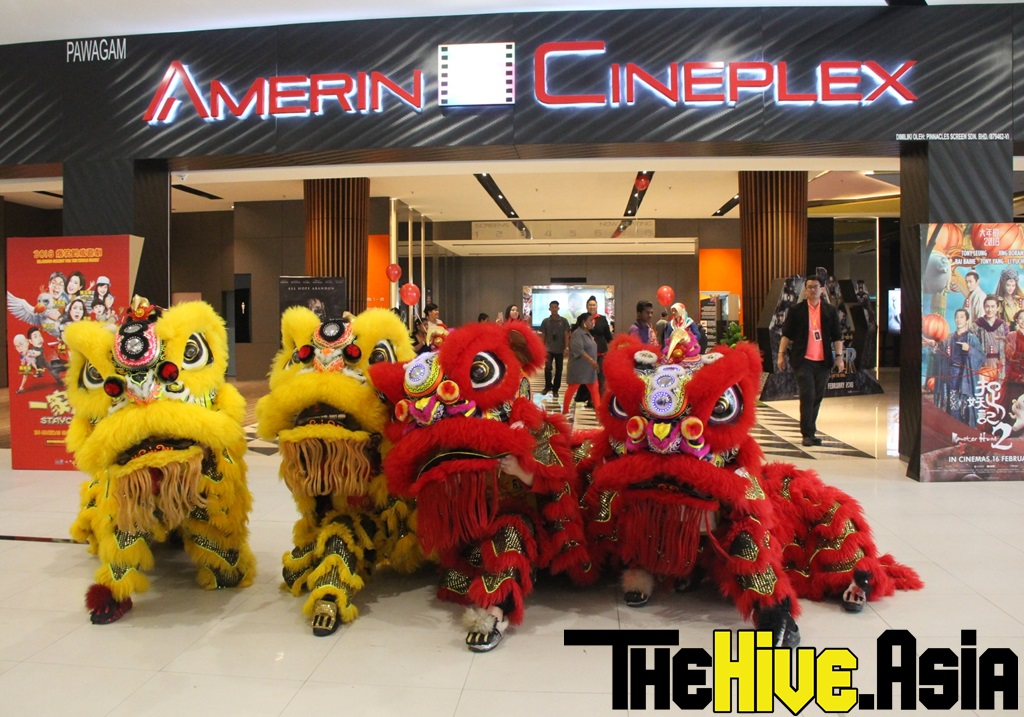 Visit the new Amerin Mall, which also has its own cineplex!