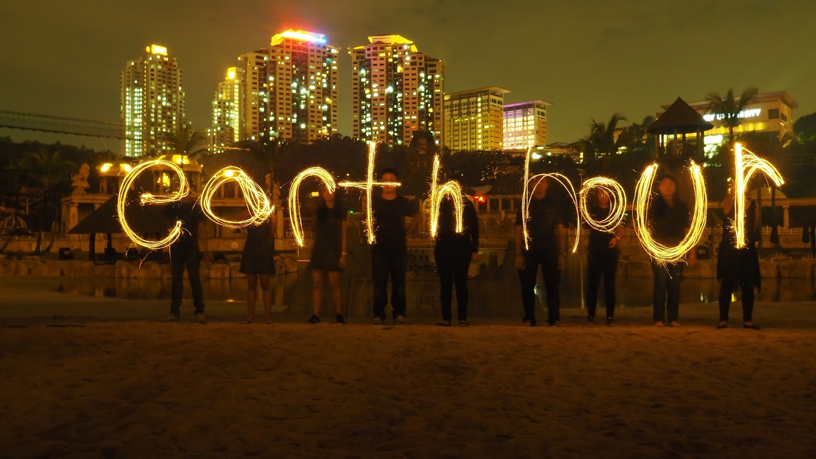 Sunway Lagoon is having a party in the dark for Earth Hour!