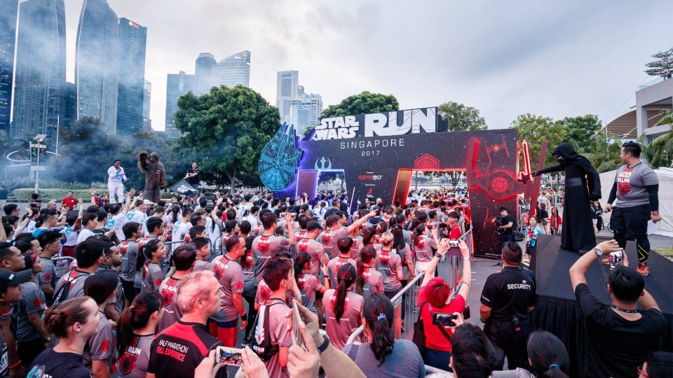 Awaken your Force as the Star Wars Run charges back into Singapore