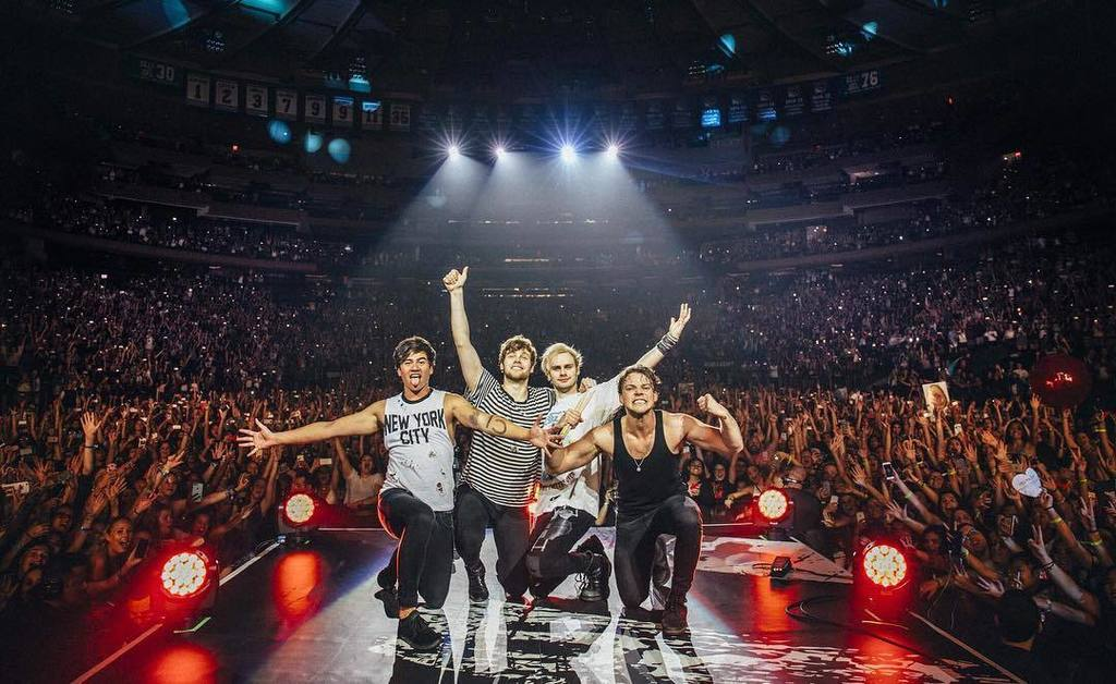 5SOS bringing the summer heat back to Singapore this May