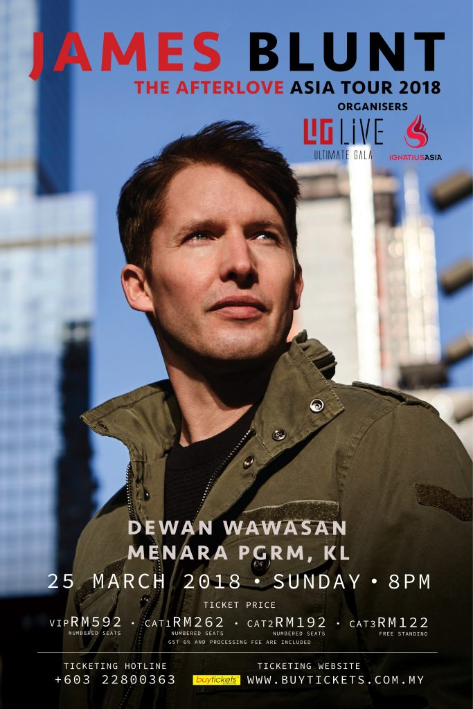 james blunt the afterlove malaysia concert poster 683x1024 1