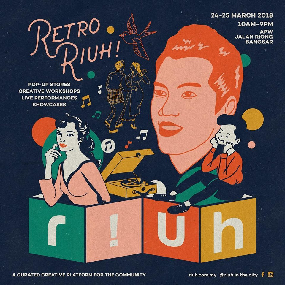 Retro RIUH to tribute P. Ramlee legacy this weekend!