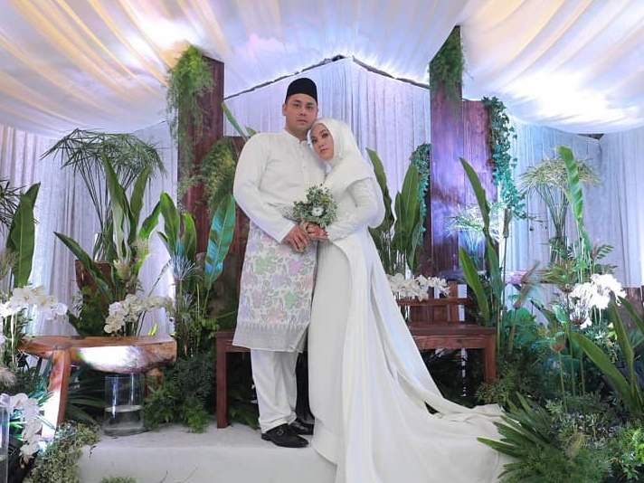 Shila Amzah and Haris Elias officially married to one another