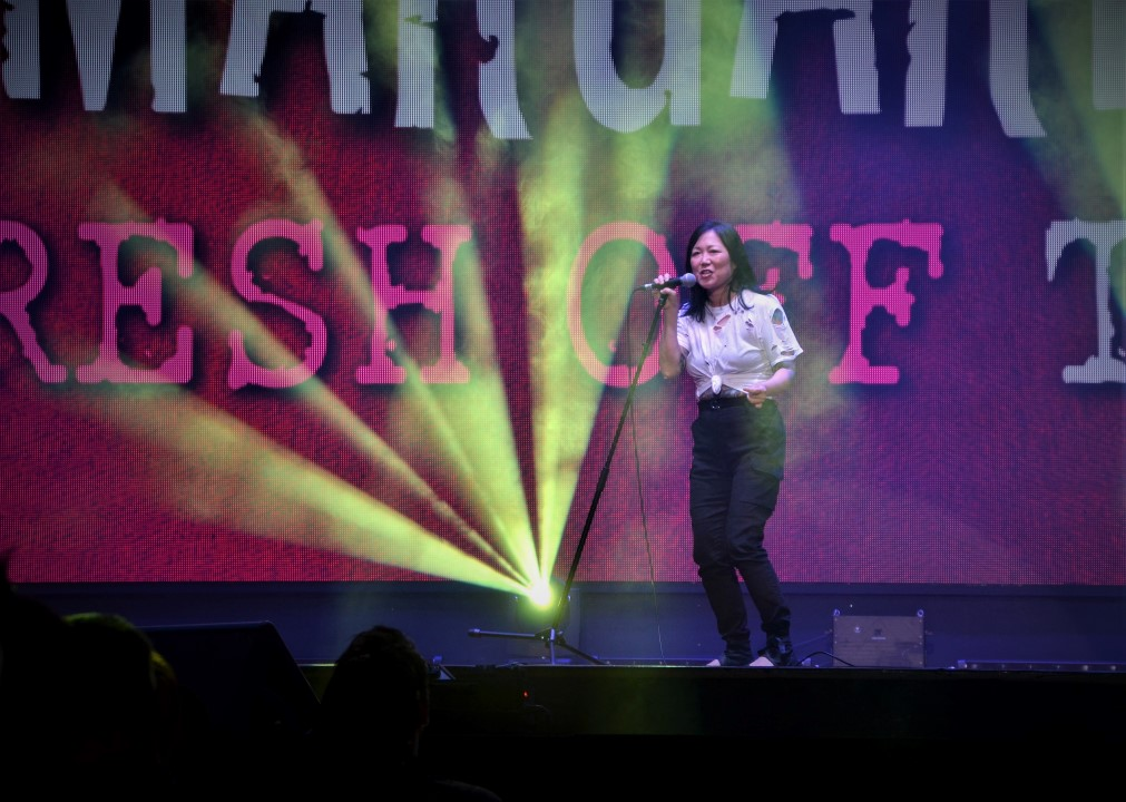Margaret Cho tickles Malaysia's funny bone at first KL show