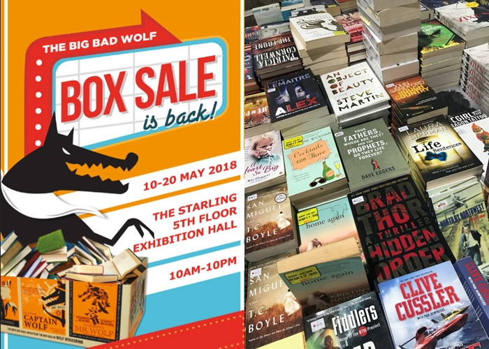 5 Tips on making the most out of the Big Bad Wolf Box Sale, 10 to 20 May!