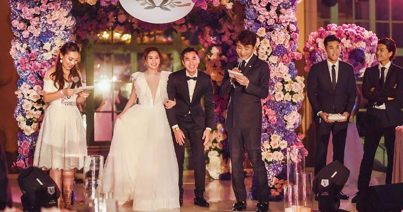 Gillian Chung and Michael Lai hold pre-wedding party in LA