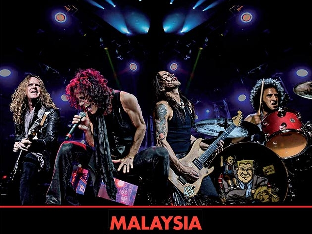 Win tickets to watch Extreme live in Kuala Lumpur this June!
