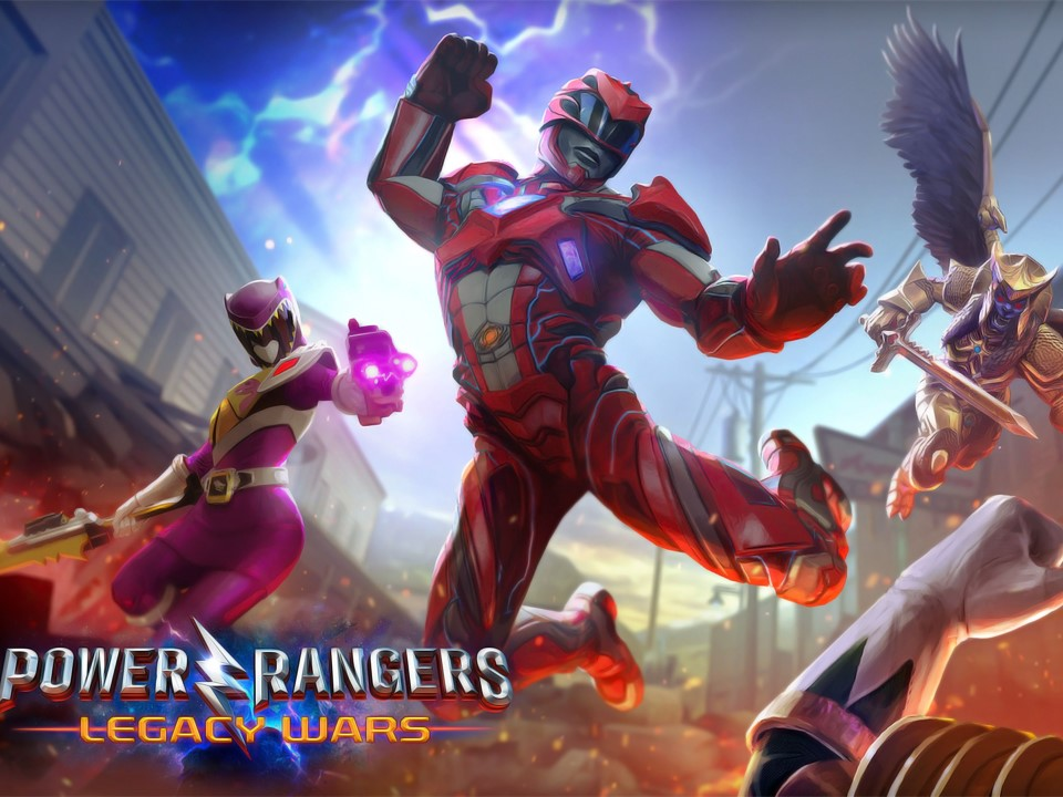 """3 pro """"Street Fighters"""" players join """"Power Rangers: Legacy Wars"""" exhibition"""