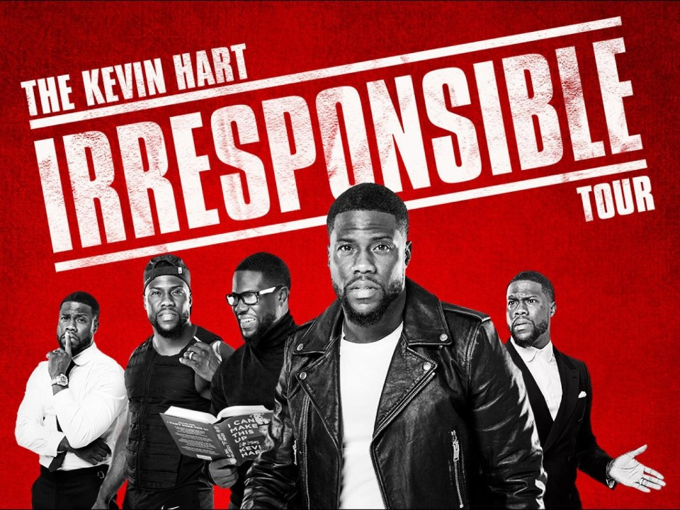 """""""The Kevin Hart Irresponsible Tour"""" coming to KL for a one-night only show!"""