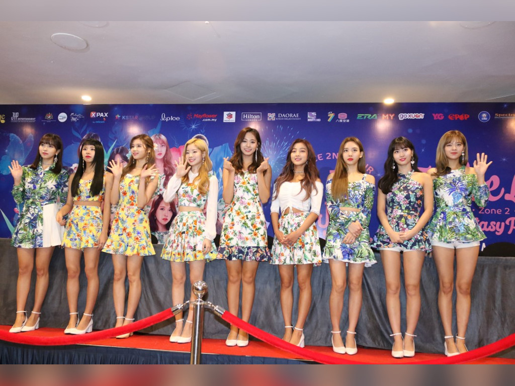TWICE members 'cheer up' fans after Malaysian concert cancellation