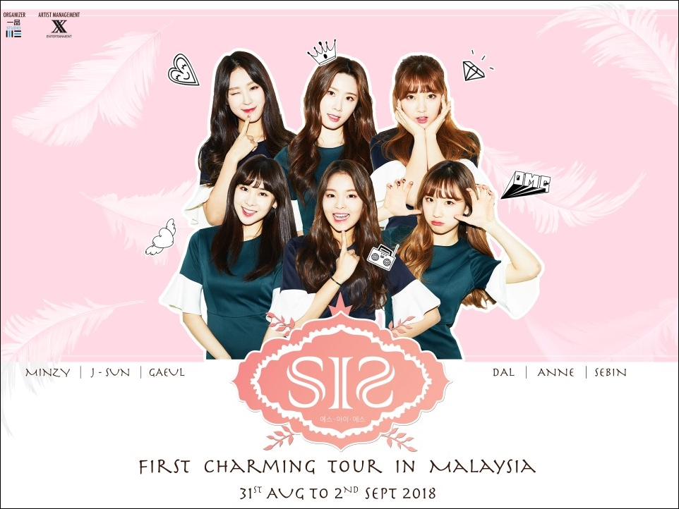 Take a selfie with K-pop group S.I.S at their upcoming KL tour!