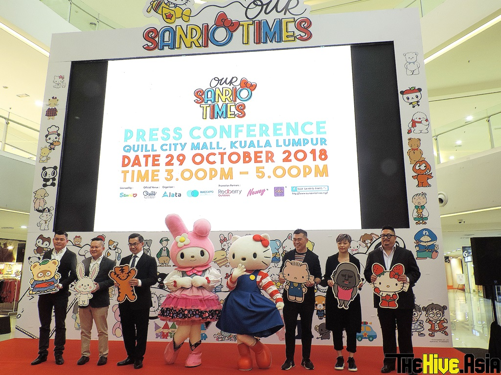 """Say hi to Hello Kitty and friends at """"Our Sanrio Times – KL"""" exhibition"""