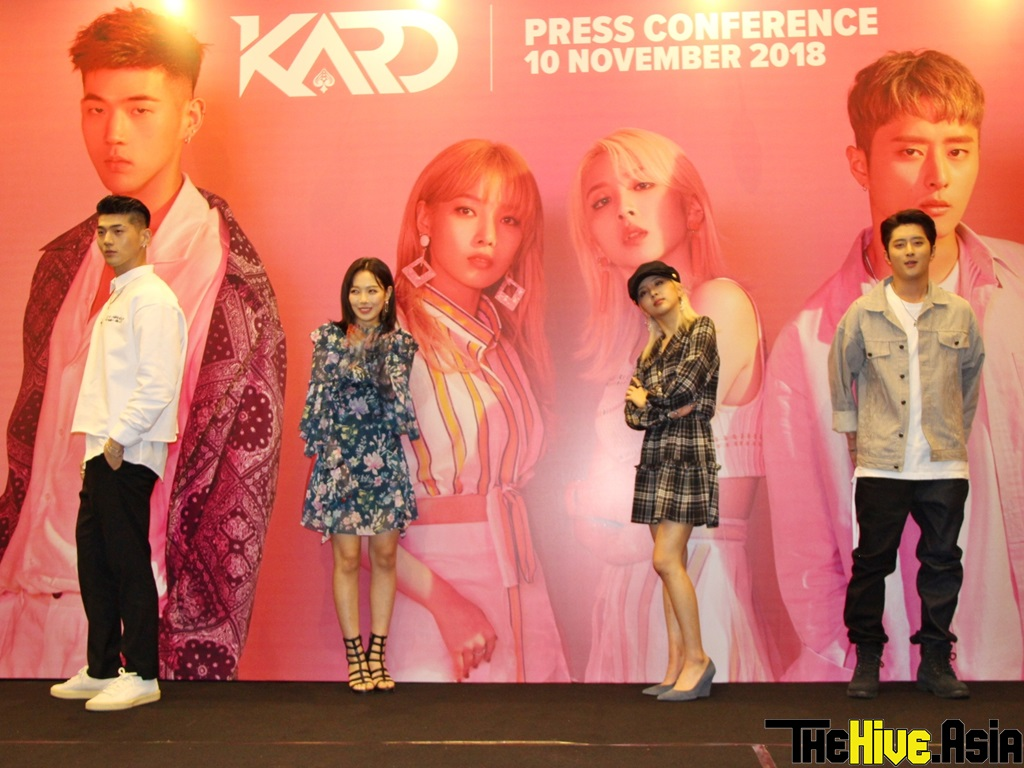 KARD deals out their best for first performance in Malaysia