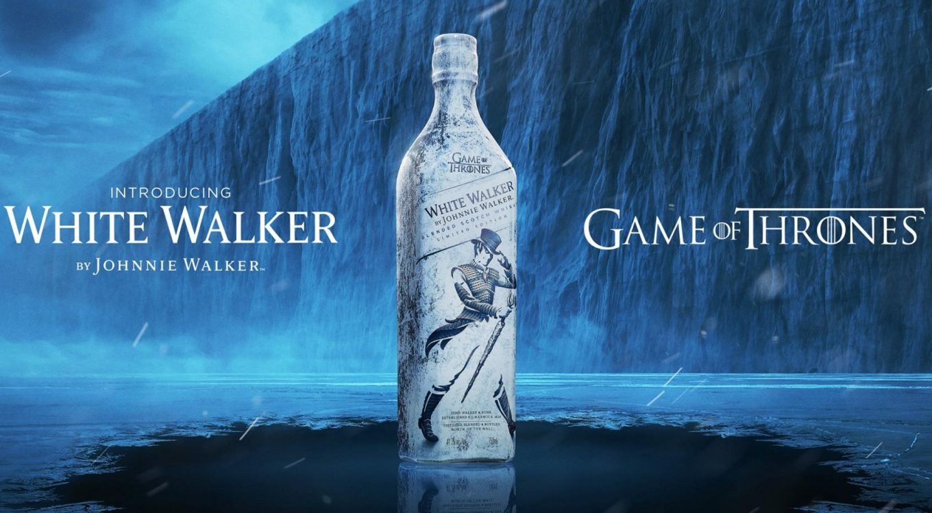 Yes, Winter is Coming…but before that, it's the White Walker whisky!