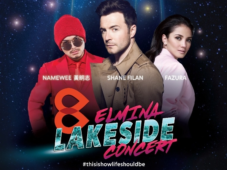 Namewee joins Fazura and Westlife's Shane Filan for lakeside concert