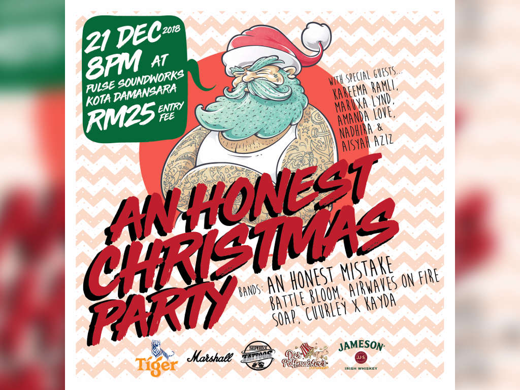 """Have """"An Honest Christmas Party"""" with An Honest Mistake"""