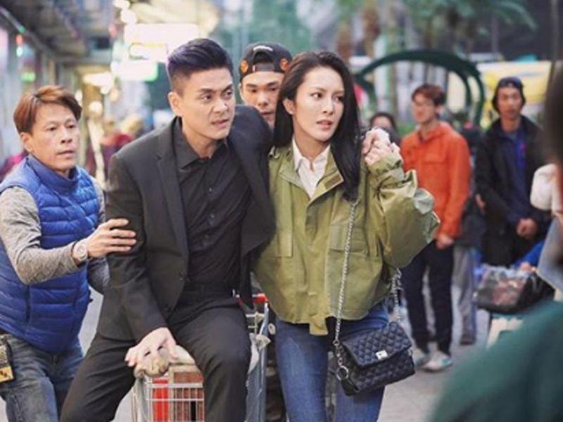 Bosco Wong returns to work despite foot injury