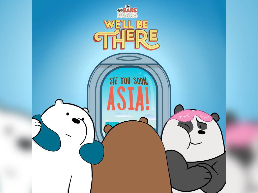 "Vote now if you want ""We Bare Bears"" to visit your country"