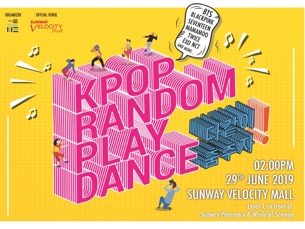 Join the first K-pop Random Play Dance in Malaysia!