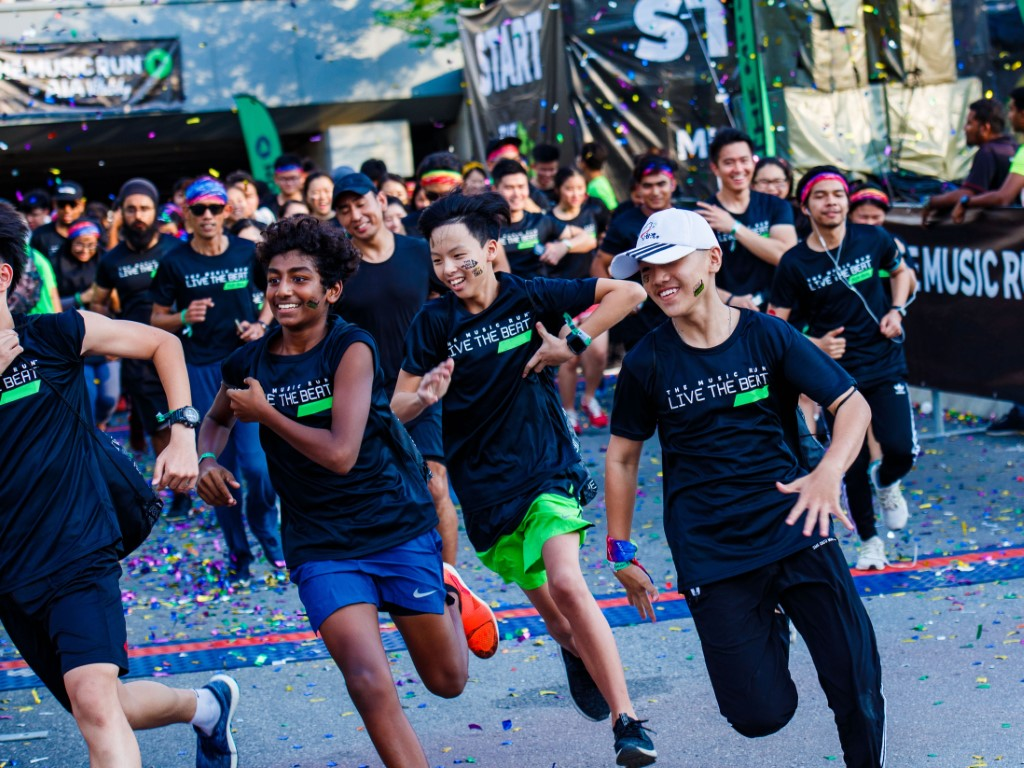 Music Run is back for the sixth year running!