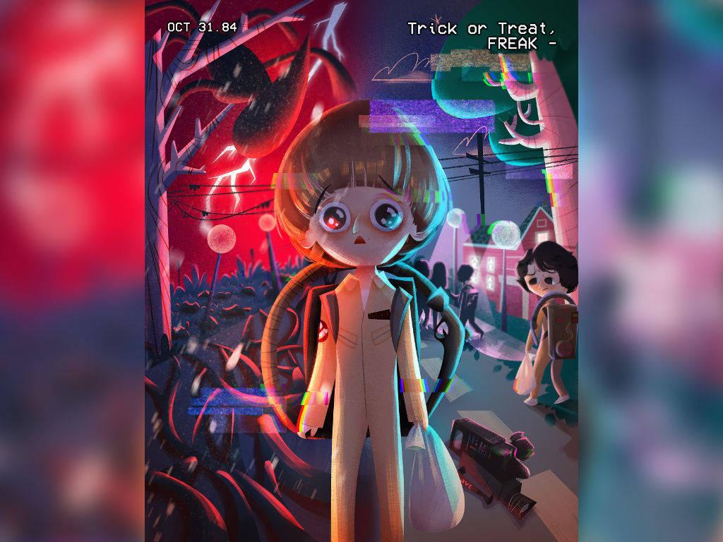 "Malaysian artist's ""Stranger Things"" fan art gets featured by Netflix!"