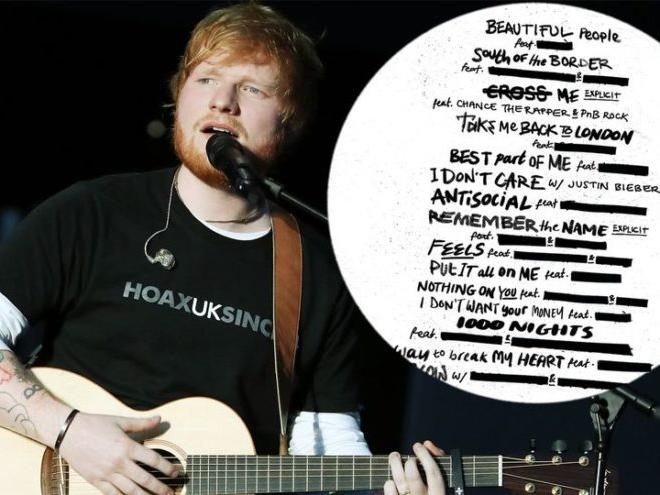 """Ed Sheeran drops new album """"No.6 Collaborations Project"""" today!"""