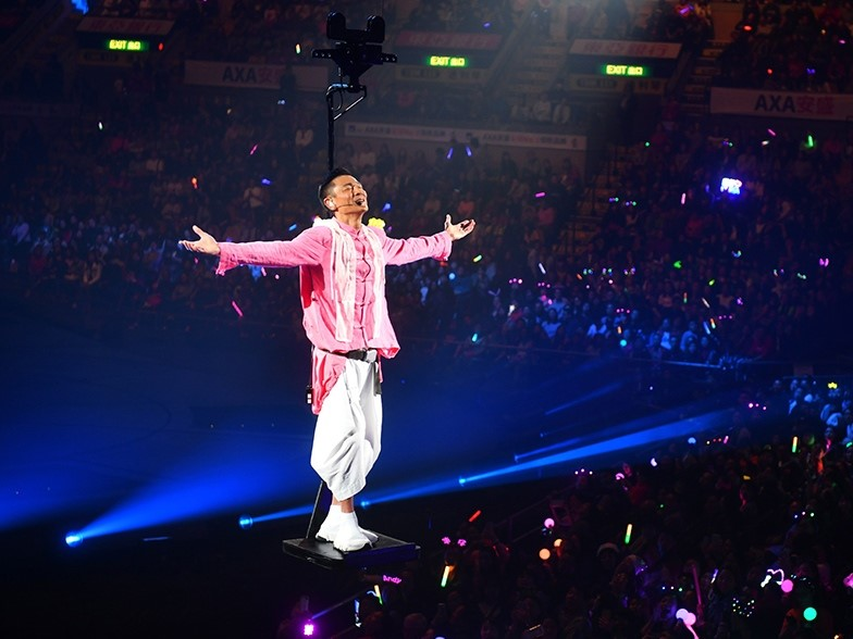 Andy Lau to break records with largest indoor stage at Malaysian concert
