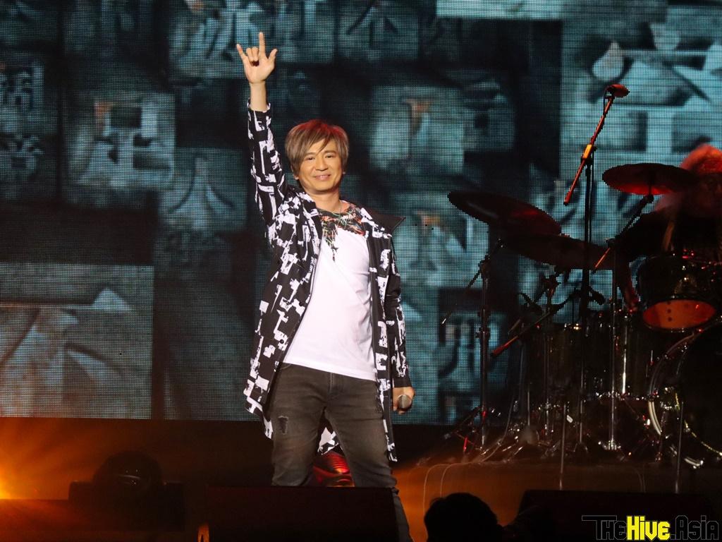 HK rock legends Wing & Paul bring on Beyond nostalgia at Genting concert