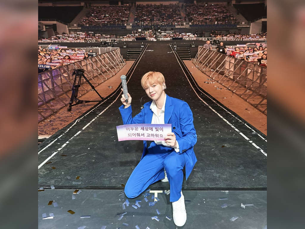 """Kang Daniel shows """"true colours"""" at first fan meeting in Malaysia"""