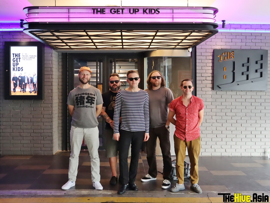"[Interview] The Get Up Kids talks being back in Malaysia, new album after ""Problems"" and more!"