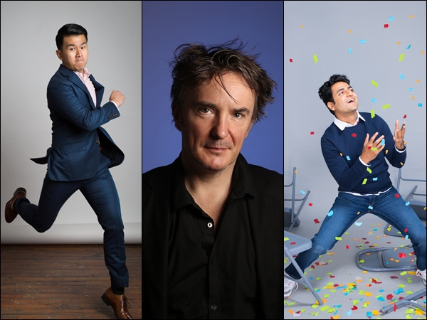Close 2019 with a bang with these three comedy stars!