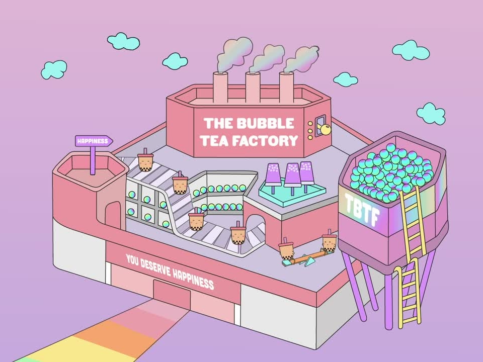 Singapore's The Bubble Tea Factory is up for its last month in January!