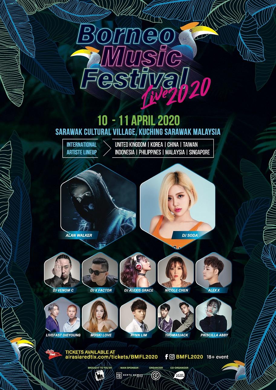 Borneo2BMusic2BFestival2BLive2B20202BPoster