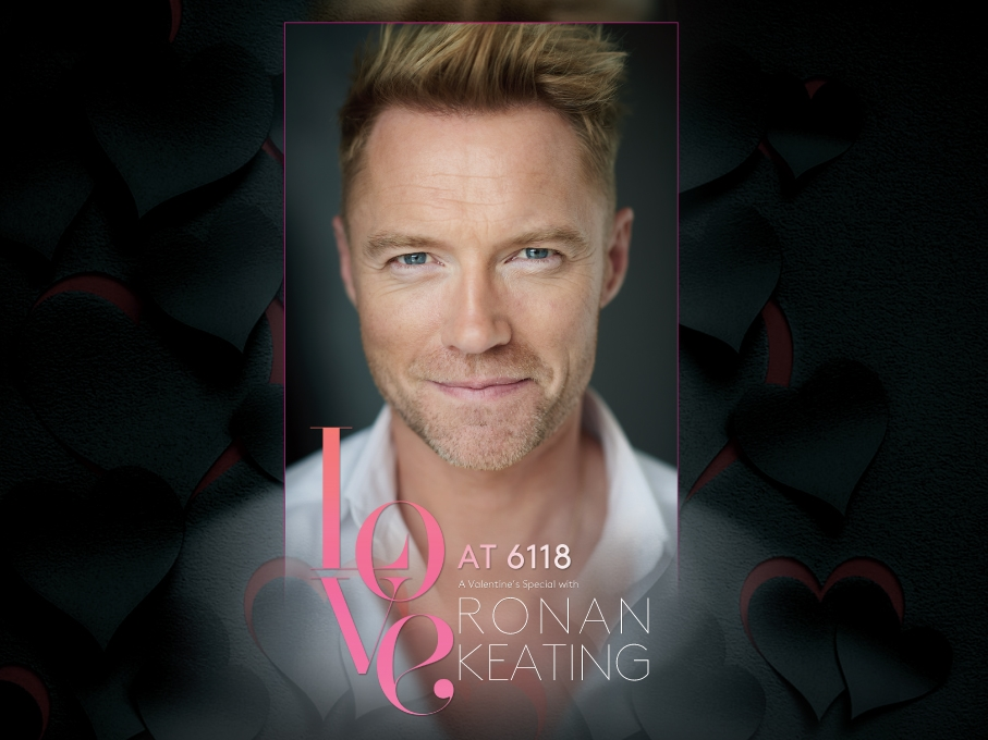 Get ready to celebrate Valentine's Day with Ronan Keating at Genting