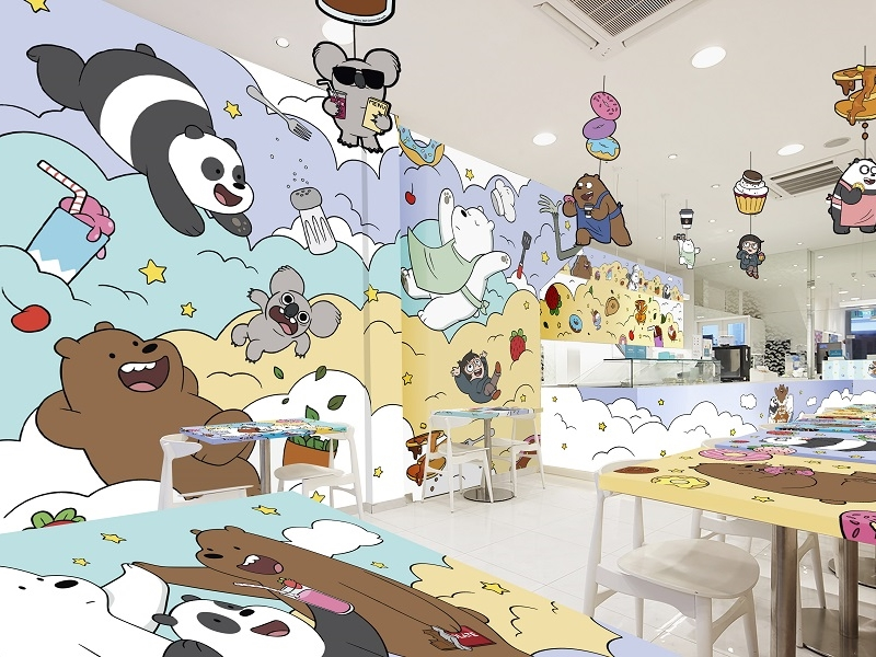 "Get your ""We Bare Bears"" foodie fix at the pop-up café in Singapore"
