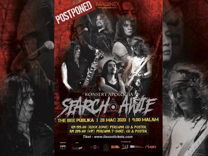 No refunds for Search and Awie's postponed concert