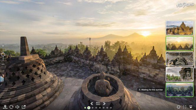 12BAirPano Borobudur