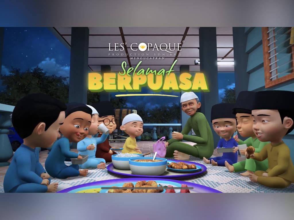 "Les' Copaque shares new ""Ramadhan Tiba"" song featuring ""Upin & Ipin"""