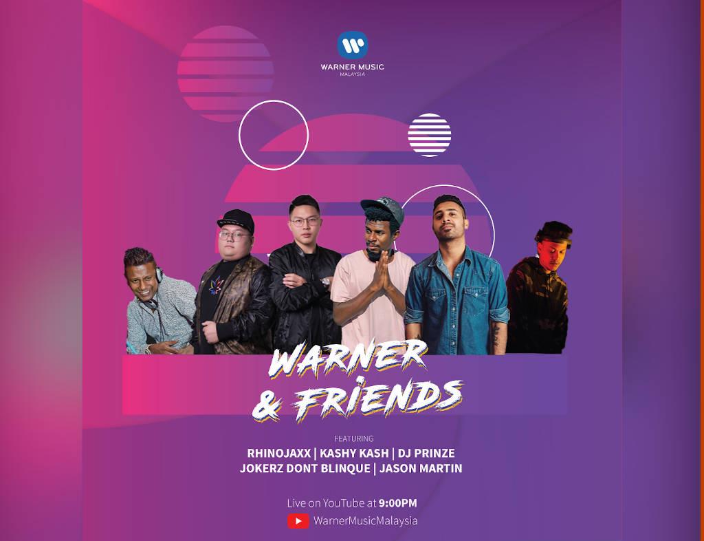 Malaysian DJs bring nightclub to homes via weekly livestream event