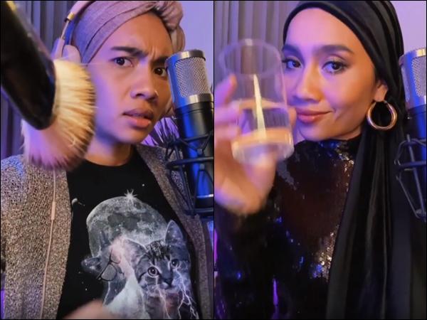 Yuna and her bandmates slay the #dontrushchallenge
