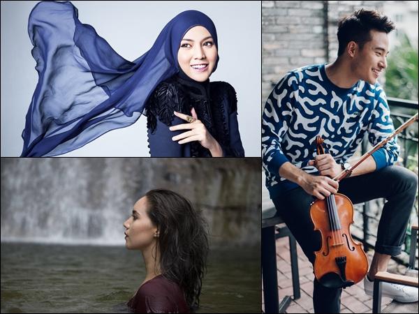 Shila Amzah, Josh Kua and Alena Murang to hold digital concerts