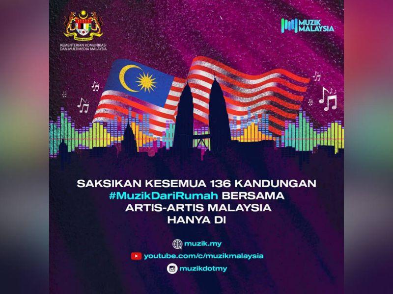 KKMM launches digital concert #MuzikDiRumah