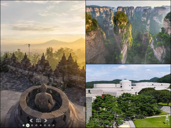 Take virtual tours throughout Asia from the comfort of your home