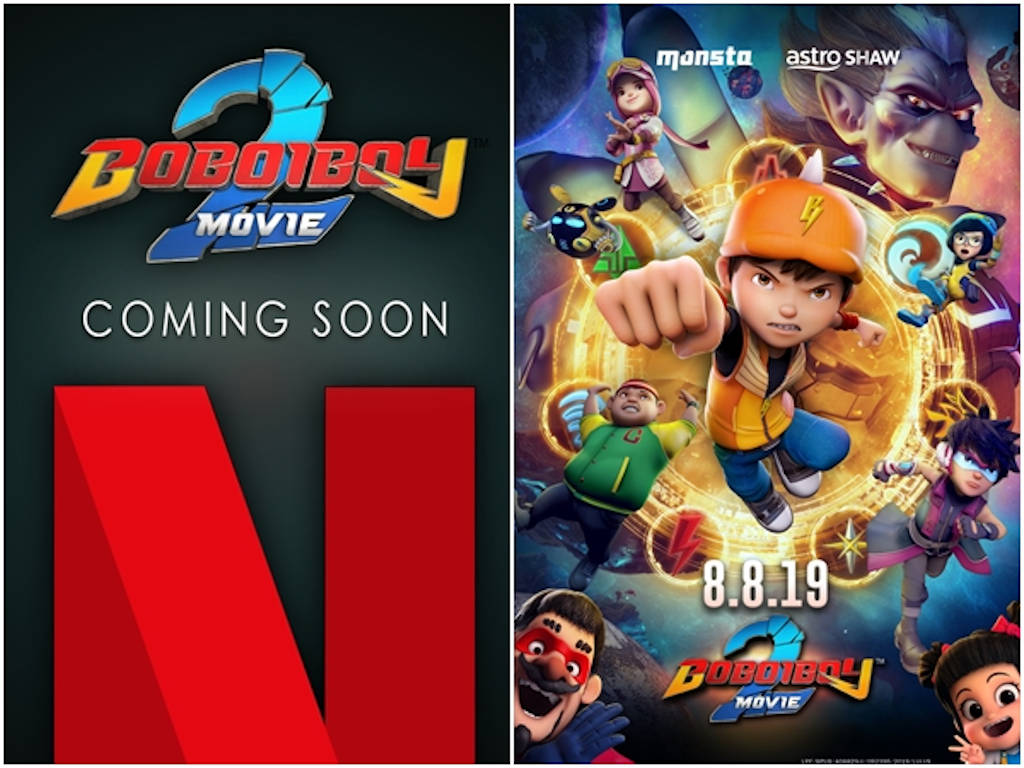 """BoBoiBoy Movie 2"" on Netflix to include 7 extra minutes"